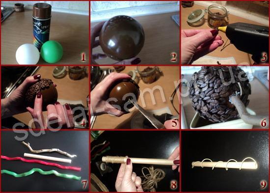 Поделки из кофе своими руками пошагово