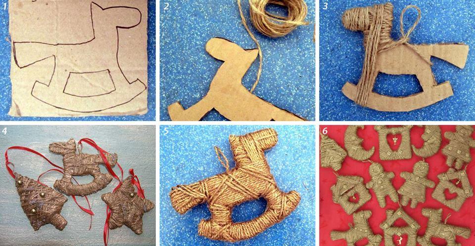 Игрушки из ниток мастер класс для детей