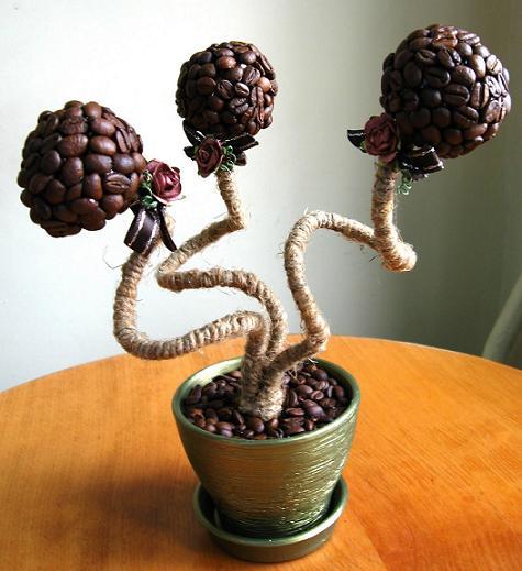 Как сделать декоративное дерево своими руками фото для сада