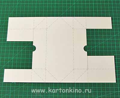 Коробочка из бумаги конфета - Интерьер