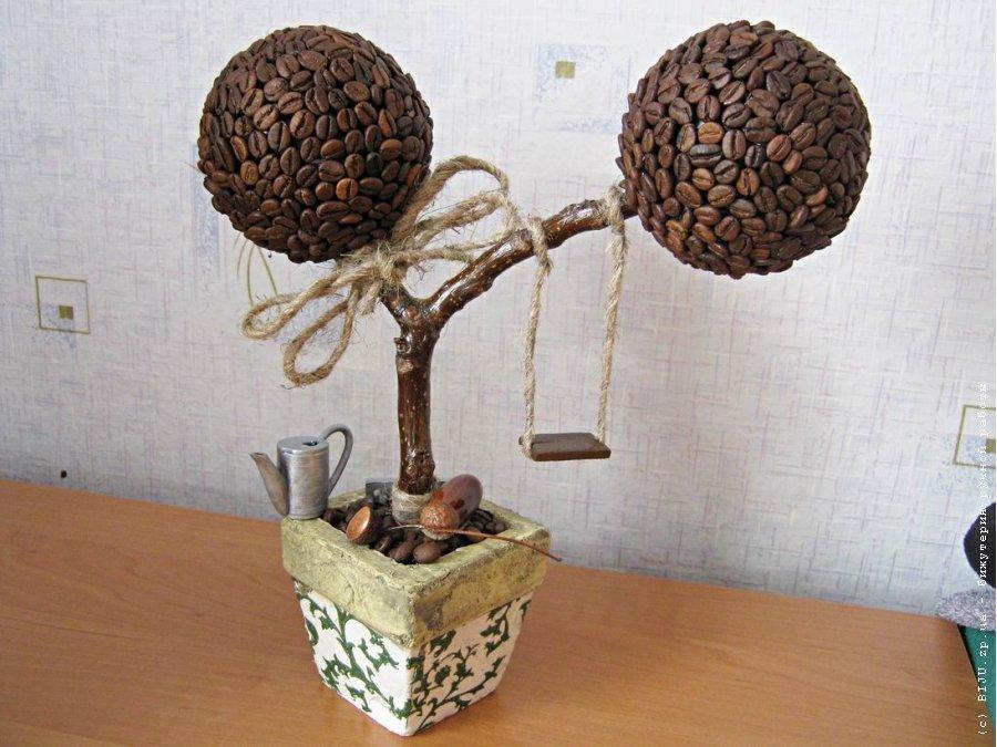 Поделки своими руками кофейные деревья