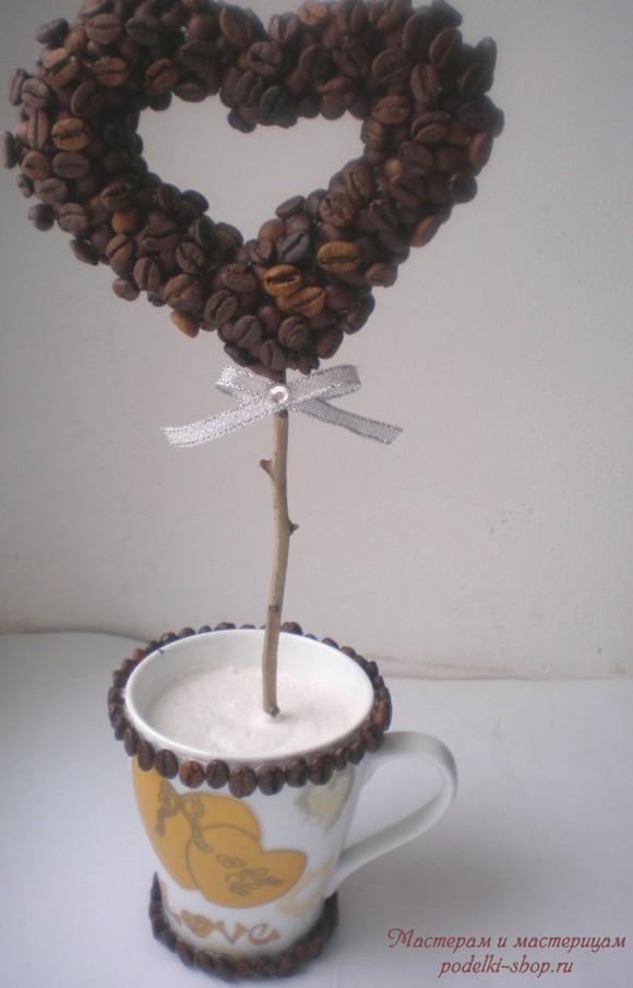 Дерево из кофейных зерен как называется