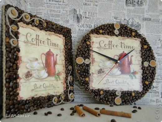 Рамки из кофе