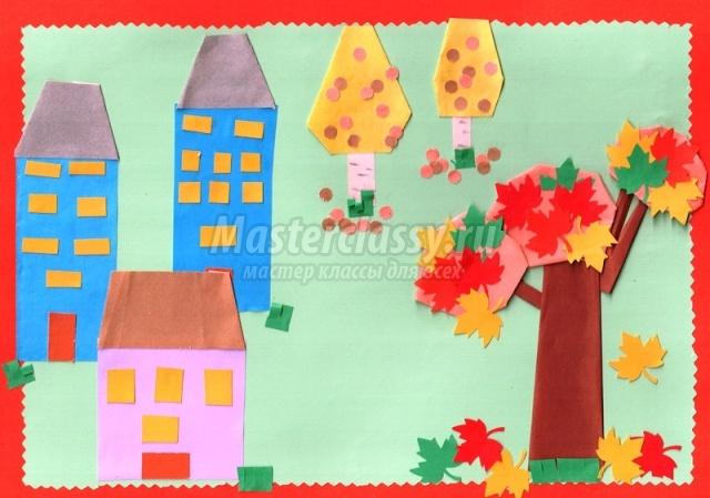 Мастер класс аппликация в детском саду