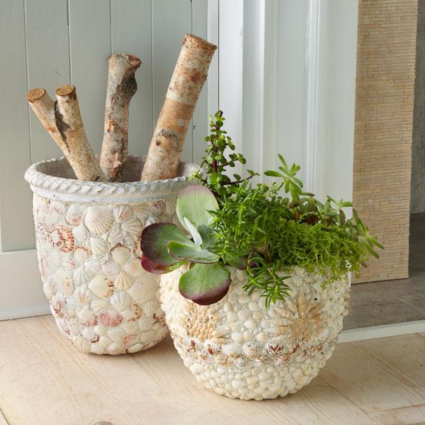 Декорировать горшок для цветов своими руками