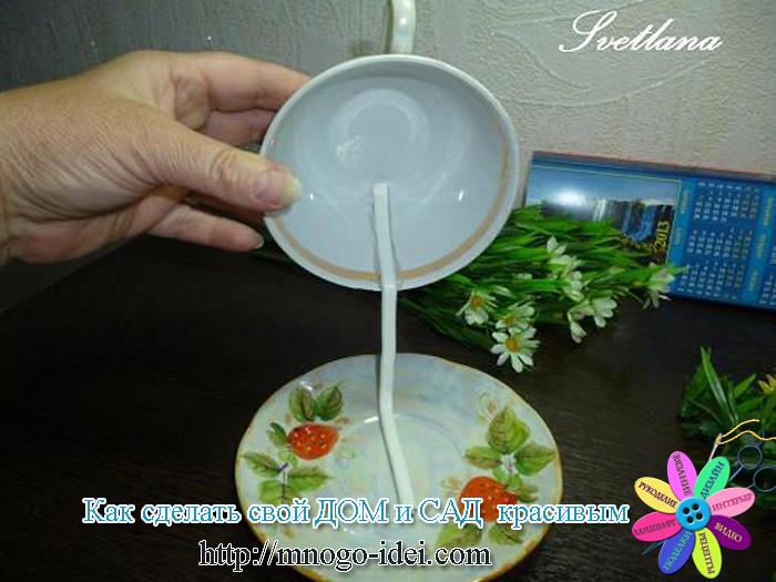 Чашки с сизалем своими руками