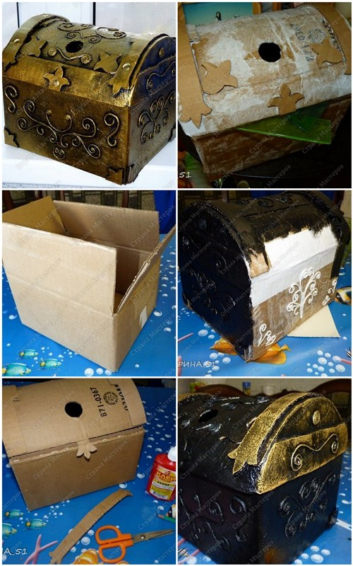 Как из коробки из под обуви сделать органайзер