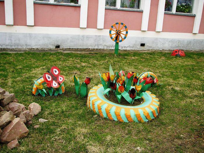 277Поделки из пластика фото для детского сада