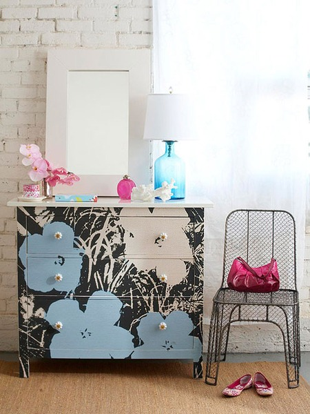 Переделка мебели и интерьера своими руками