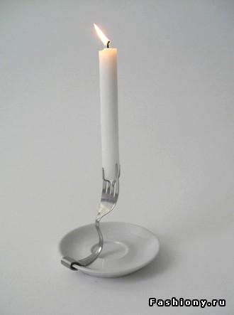 Подставка под свечи своими руками