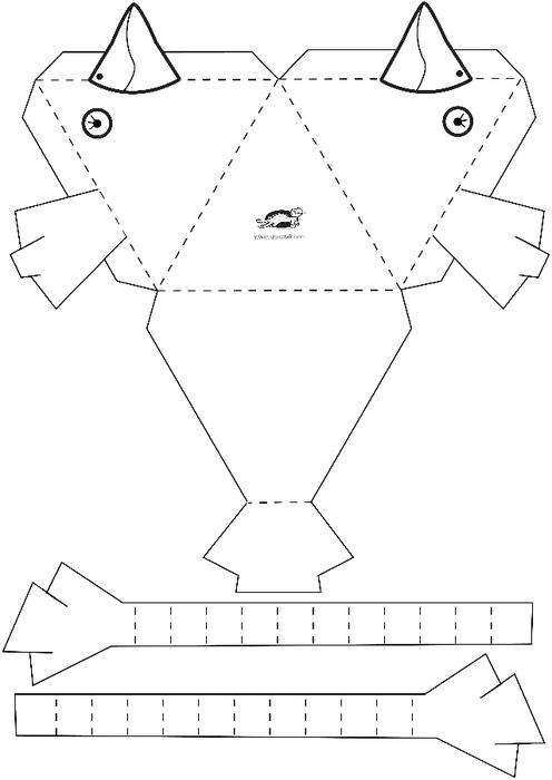 Поделки своими руками схемы шаблоны для детей 5 лет