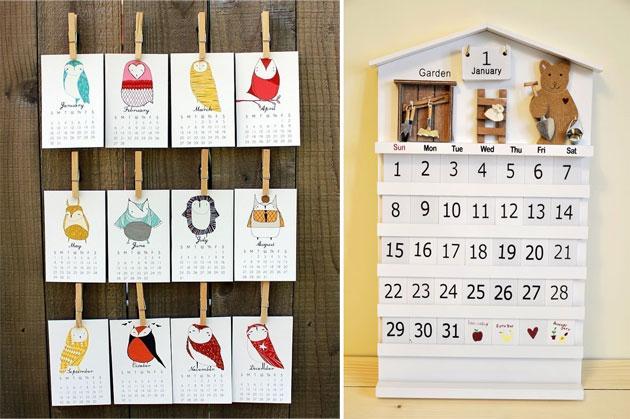 Календари своими руками с фото