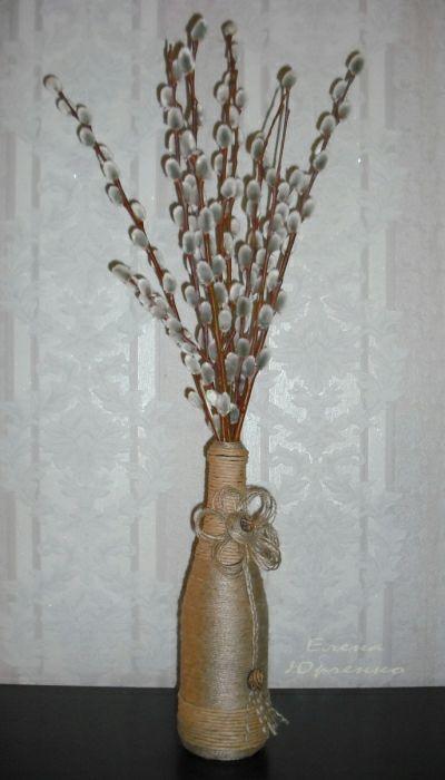 Напольные вазы мастер класс 4