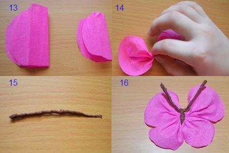 Простые поделки своими руками из гофрированной бумаги
