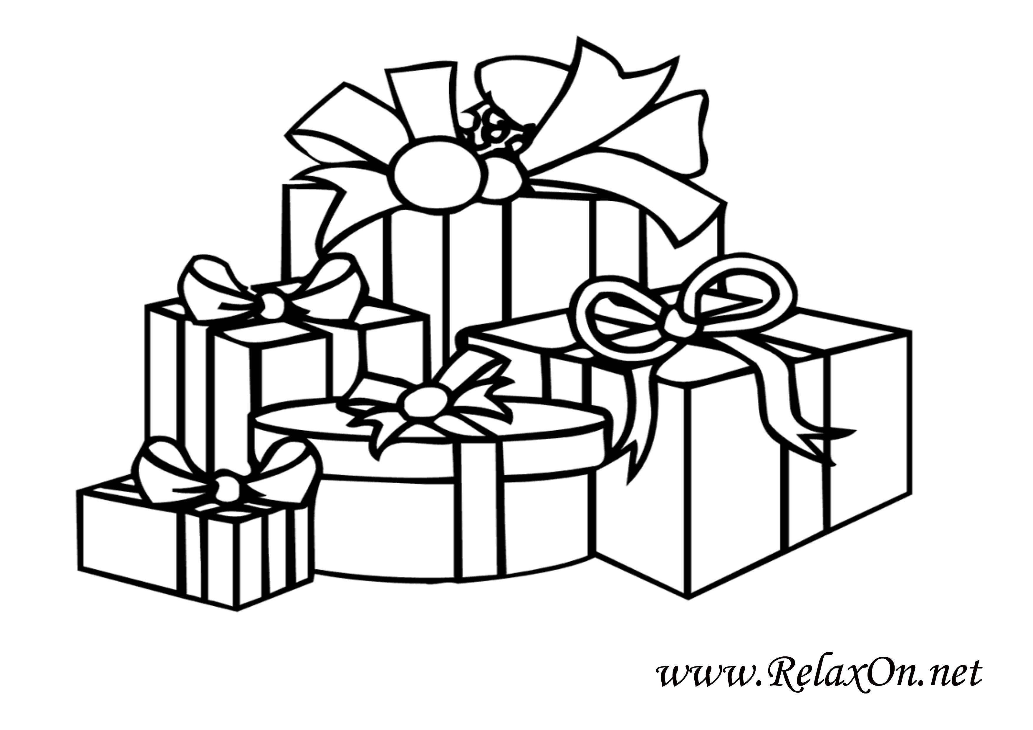 Что нарисовать на новый год в подарки