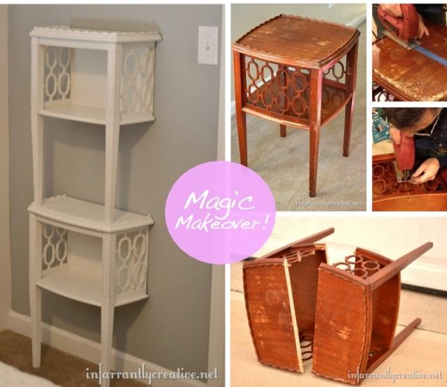 Как сделать старую мебель