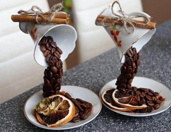 Парящая чашка с кофе своими руками мастер