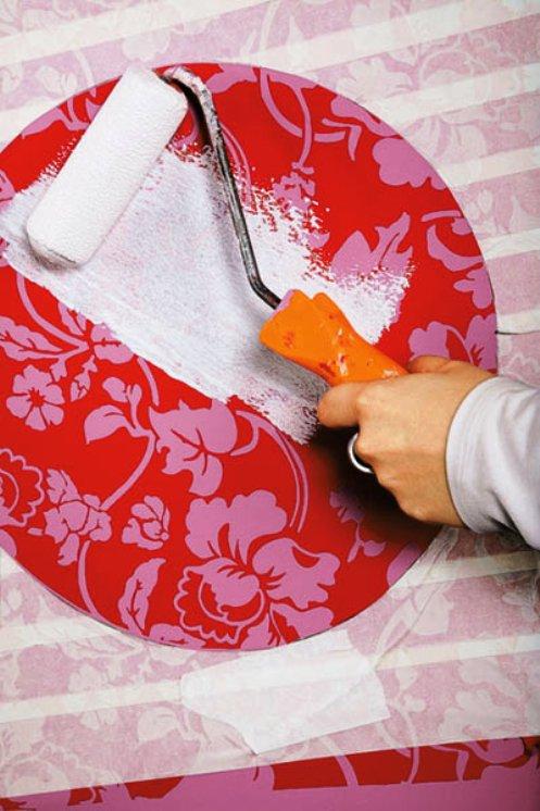 Как наносить краску на мебель