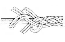 Плетение толстой веревки