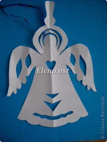 Ангелочки из бумаги на новый год своими руками видео