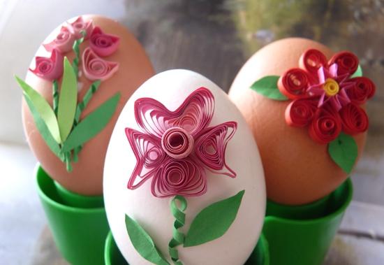 пасхальные яйца квиллинг мастер класс