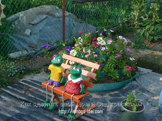 Поделки своими руками для сада огорода фото