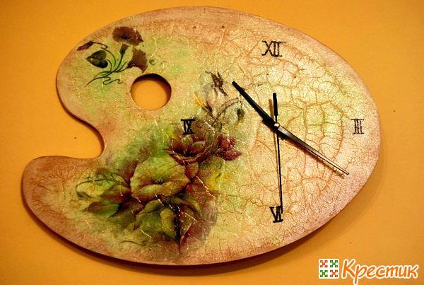 Часы палитра
