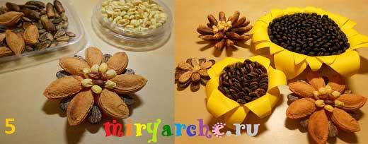 Поделки из косточек абрикоса для детей