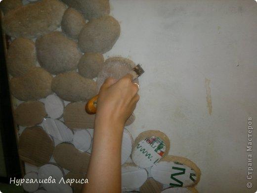 Камни из картона своими руками