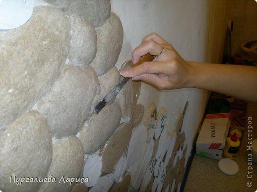Декоративные камни из бумаги
