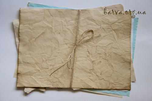 Как состарить бумагу своими руками. 5 способов от Вики Бартош.. Барва - своими руками декор, живопись, фотография, handmade. Мас