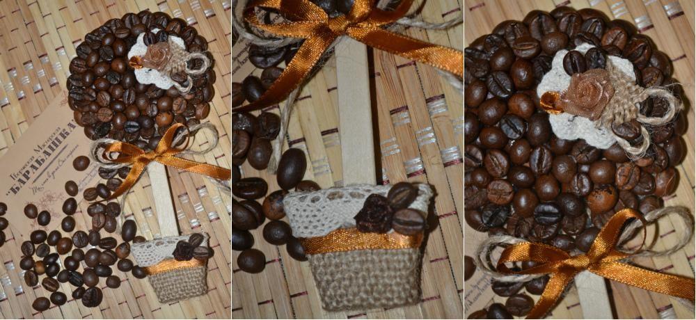 Кофейные топиарии своими руками на 2017 год