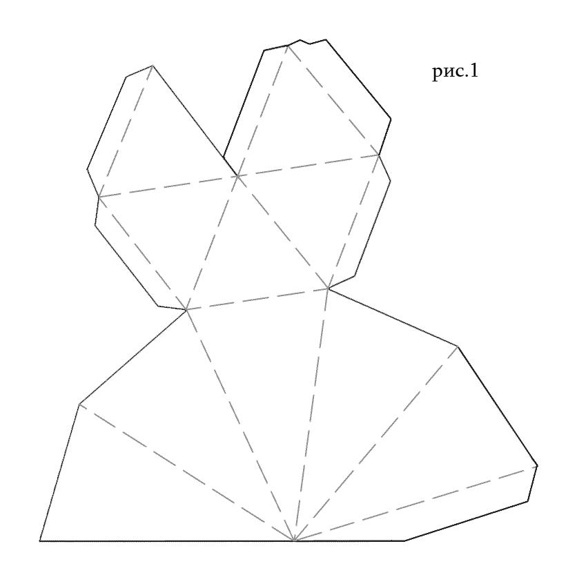 Как сделать из бумаги своими руками схемы шаблоны 88