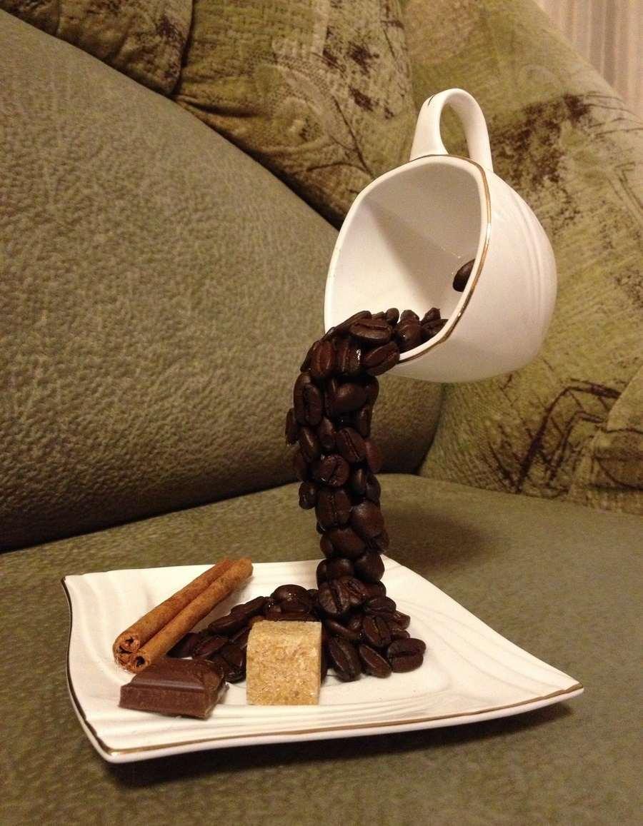 Как сделать кружку из кофе