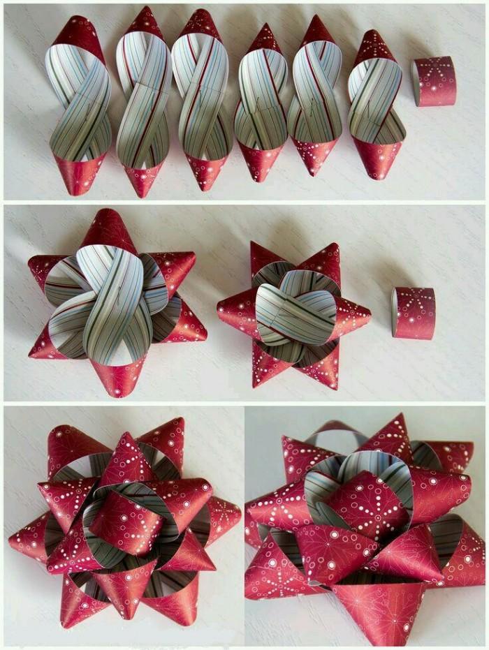 Как сделать банты из подарочной ленты