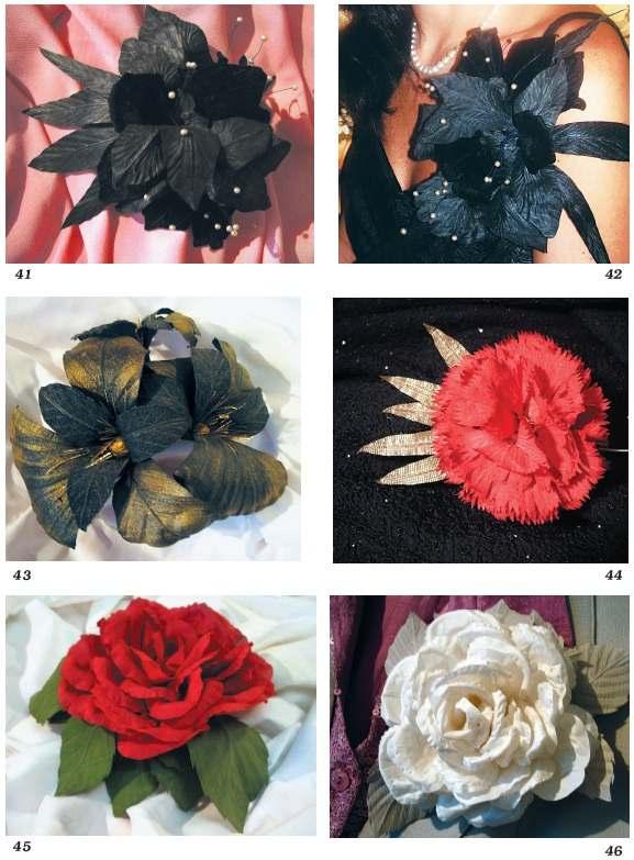 Как сделать для платья украшение цветок