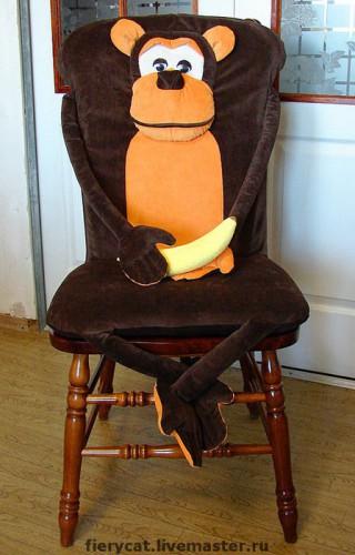 Как сшить чехол на детский стул со спинкой