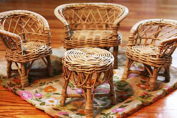 Плетеная мебель своими руками из газетных трубочек