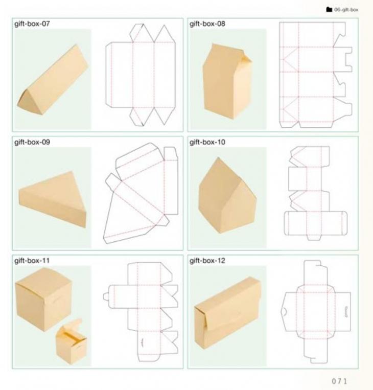 Коробка из бумаги своими руками с размерами