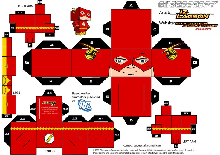 Поделки супергероев из бумаги