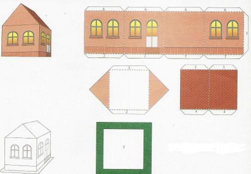 Как сделать чертеж дома на бумаге