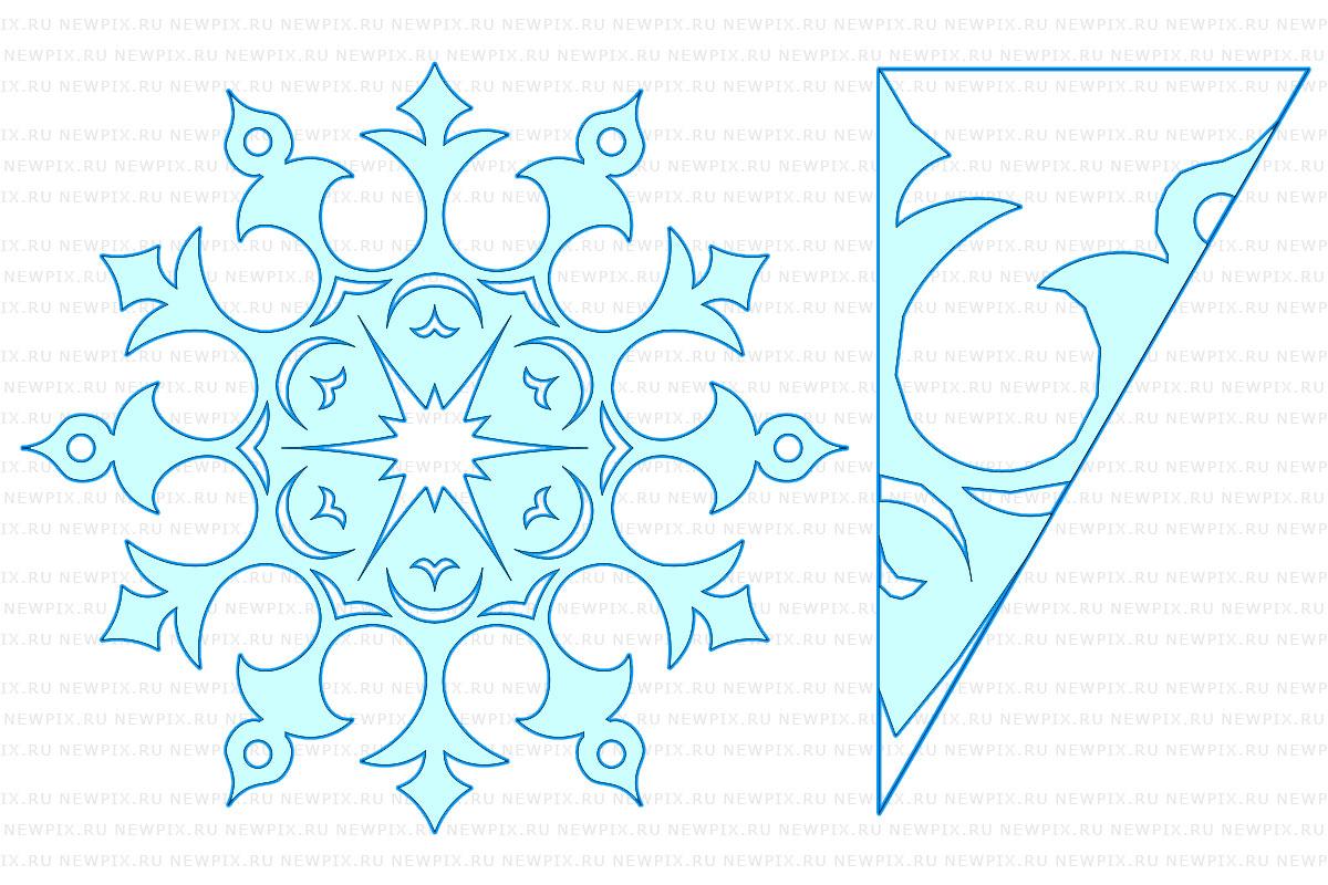 Схема снежинок своими руками