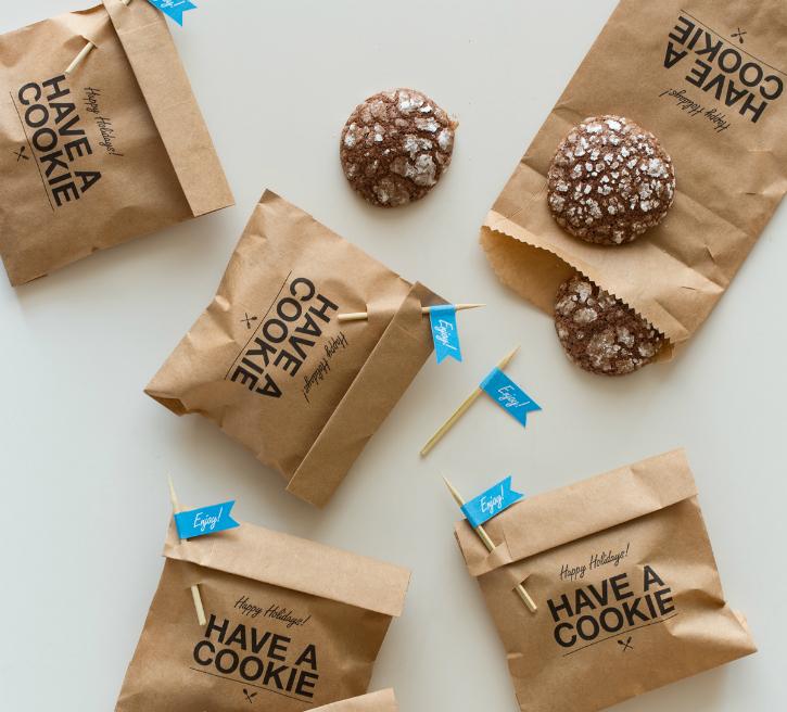 Сделать упаковку для печенья