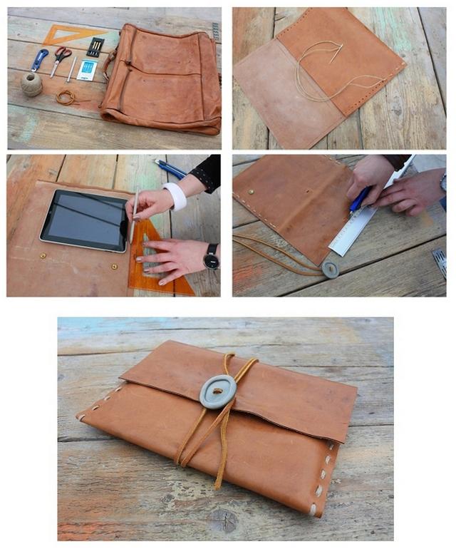 Как делать кошелек из ткани