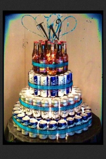 Тортики из пива для мужчин