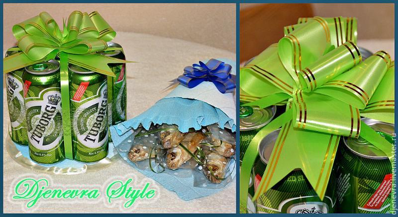 Упаковка пива для подарка 44