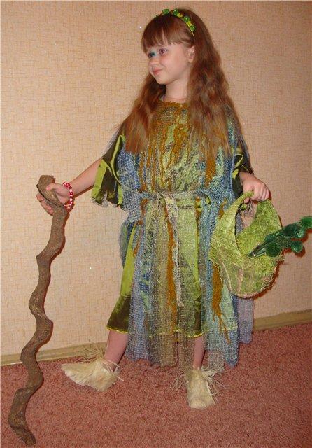 Новогодний костюм кикиморы своими руками