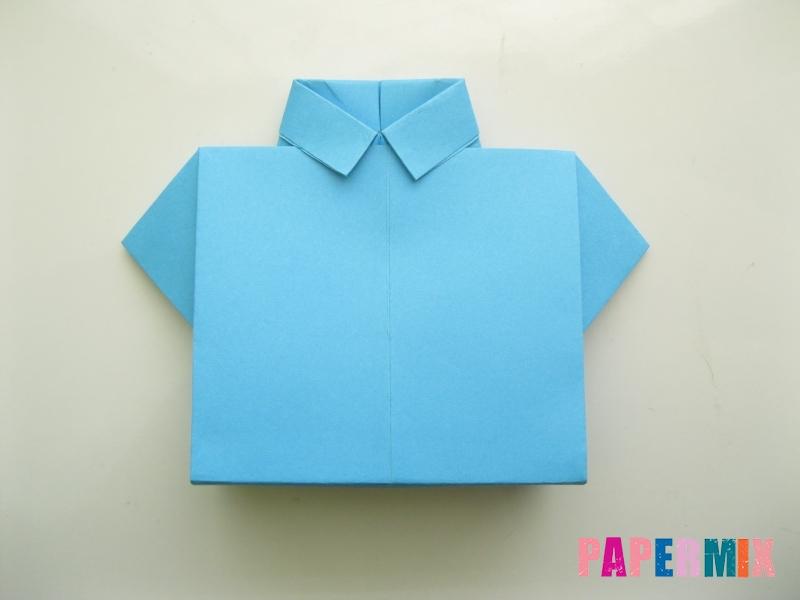 Как сделать галстук из бумаги смотреть