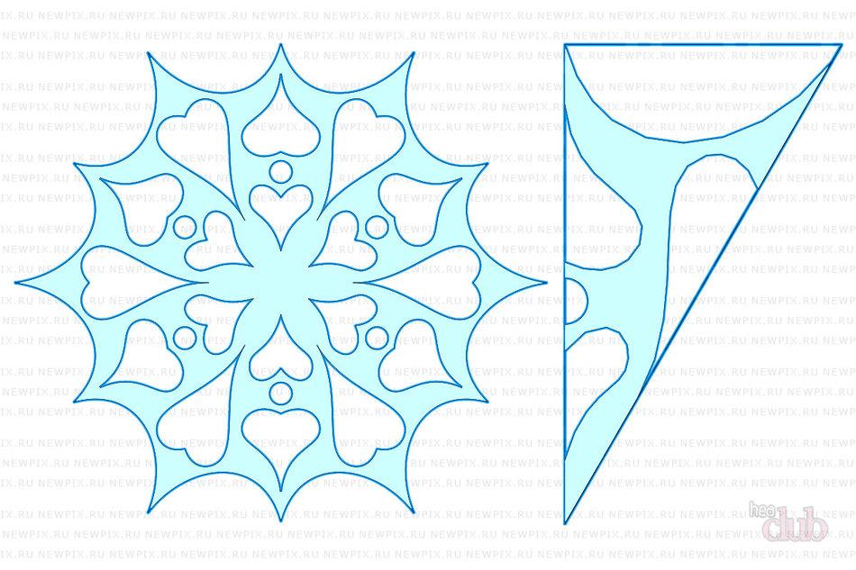 Снежинки для своими руками схемы 53