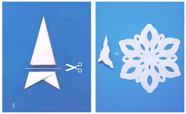 Легкие но красивые снежинки своими руками